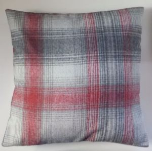 "Cushion Cover in Next Cosy Red Check Tartan 14"" 16"" 18"" 20"""
